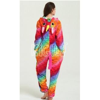 Onesie Kigurumi Unicorn Rainbow Dragon