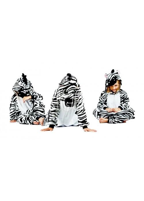 Onesie Kigurumi Zebras