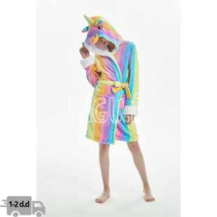 "Chalatas ""Rainbow Unicorn"""