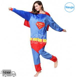 Onesie Kigurumi Supermanas