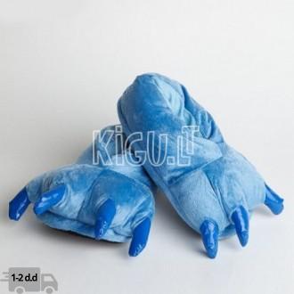 Kigurumi mėlynos šlepetės