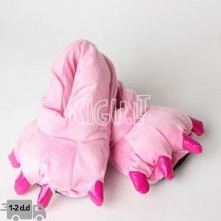 Kigurumi rožinės šlepetės